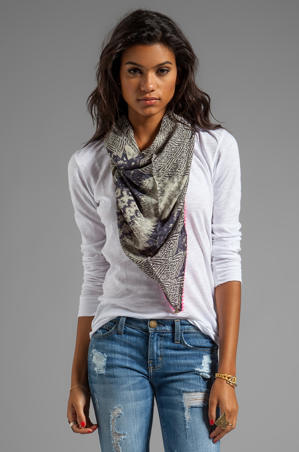 Tallow Traveller Scarf in Multi