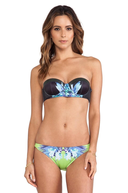 Tallow Bustier Bikini in Livid