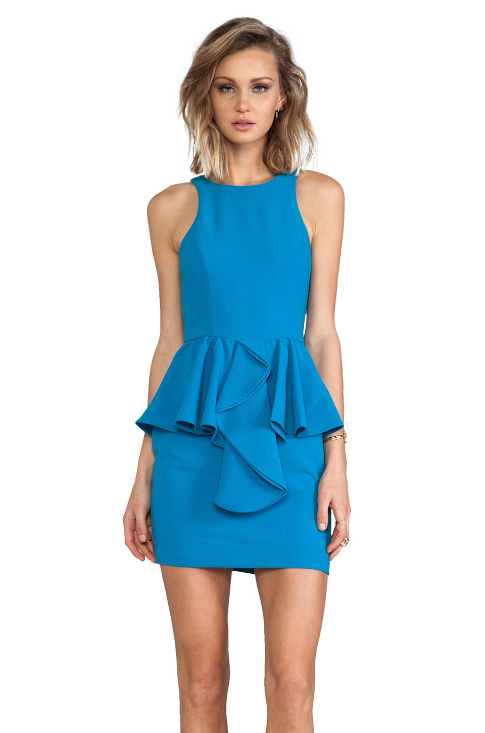 Talulah The Jasper Crystal Dress in Blue