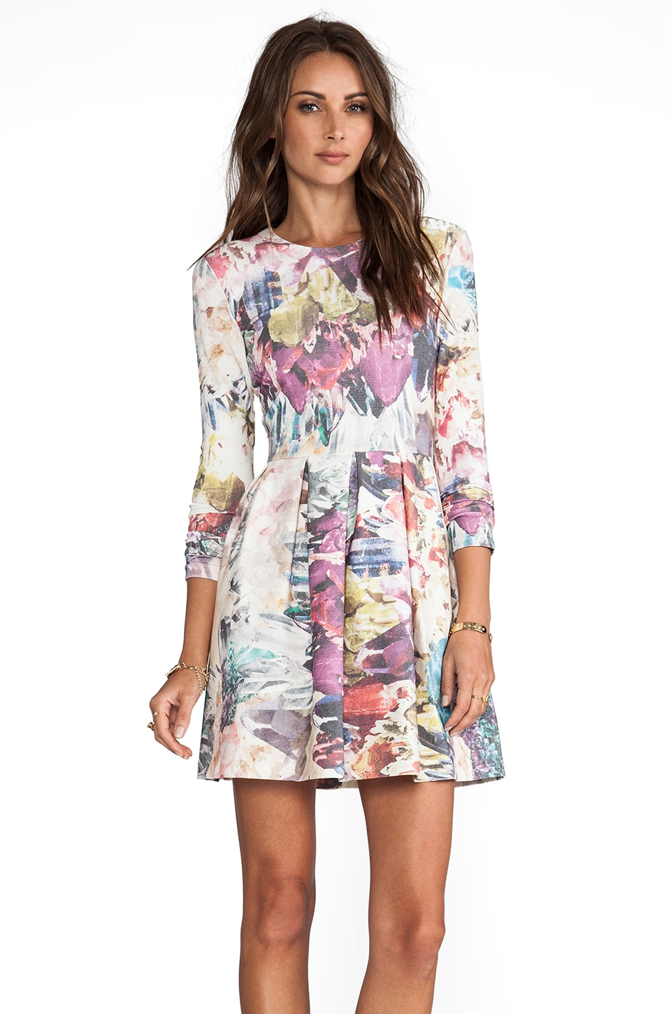 Talulah Take A Chance Dress in Crystal Rainbow