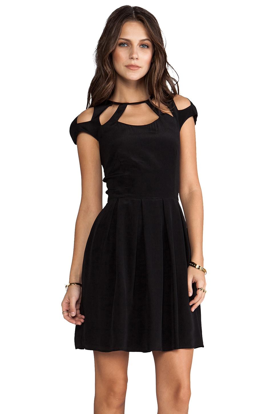 Talulah Sunsets Dress in Black