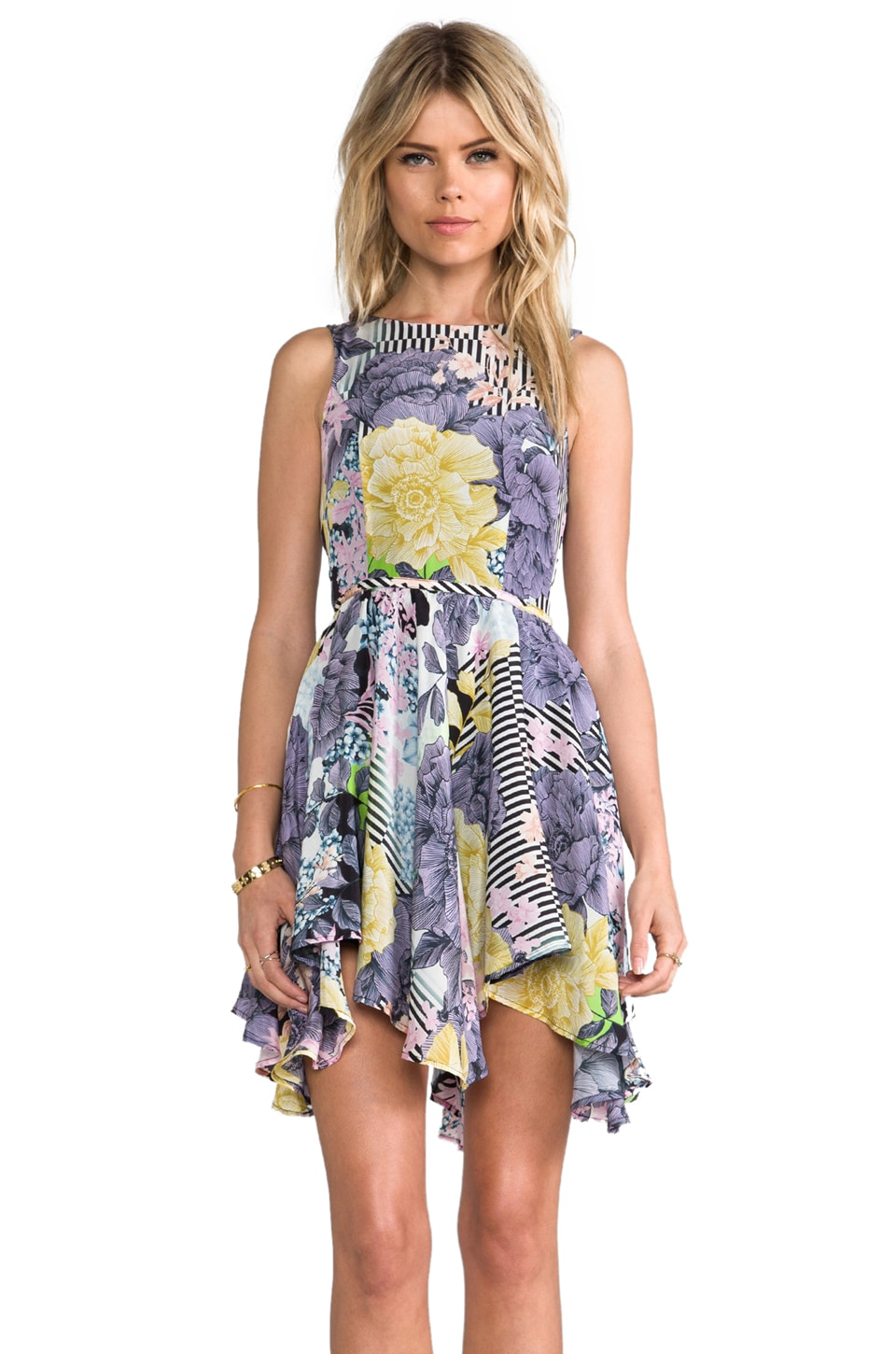 Talulah Sweeping Petals Dress in Floral