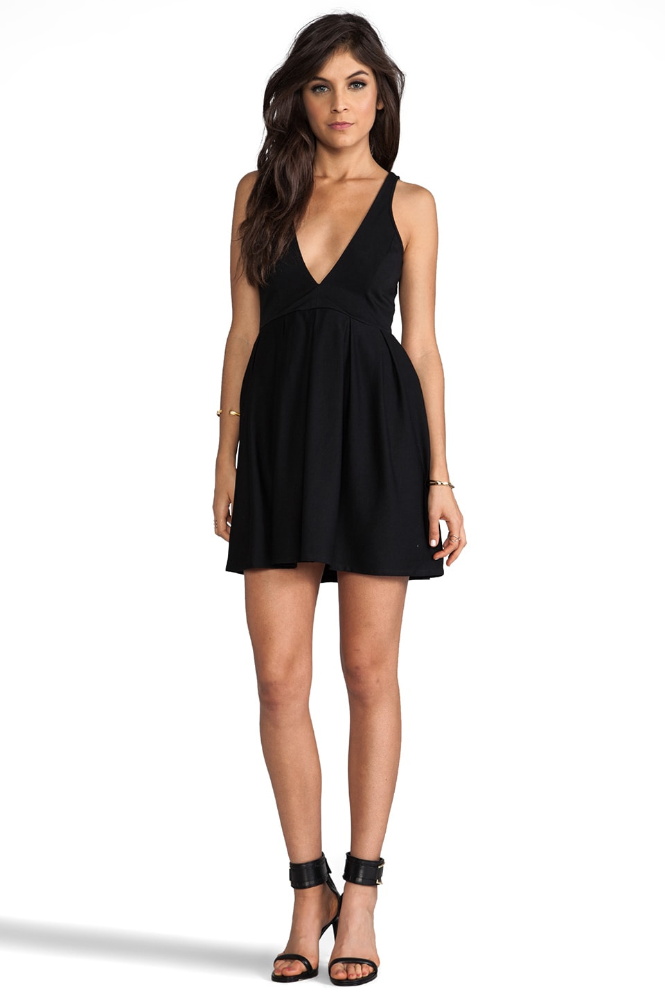 Talulah I Live To Kiss Dress in Black