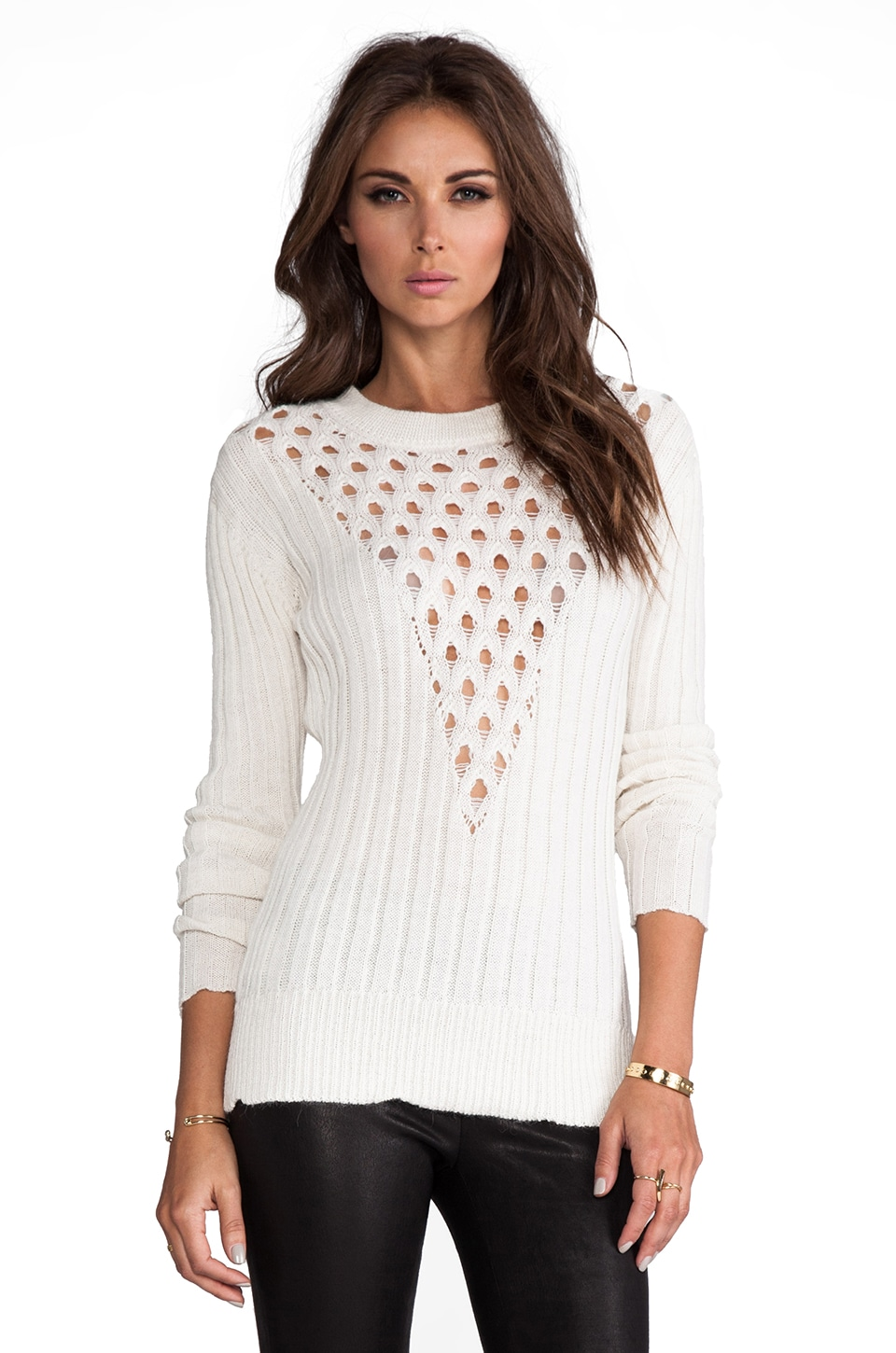 Talulah Live A Little Sweater in Cream
