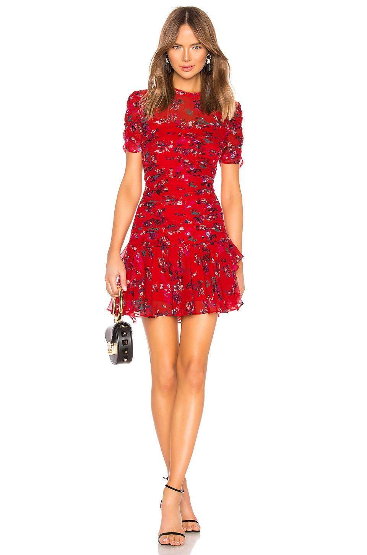 Tanya Taylor Carti Dress in Red
