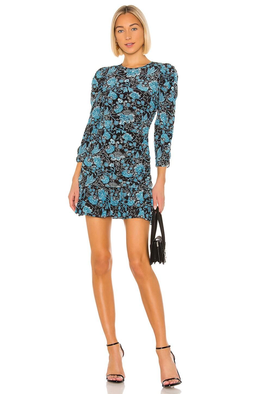 Tanya Taylor Raven Dress in Paisley Blue