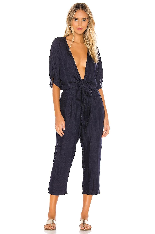 TAVIK Swimwear Bailey Jumpsuit in Evening Blue