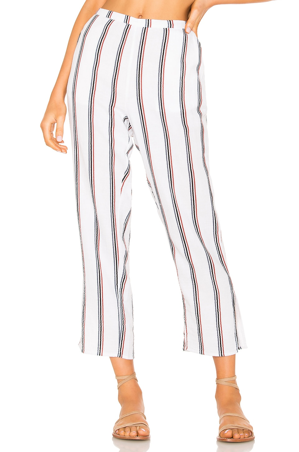TAVIK Swimwear Calder Pant in White Stripe
