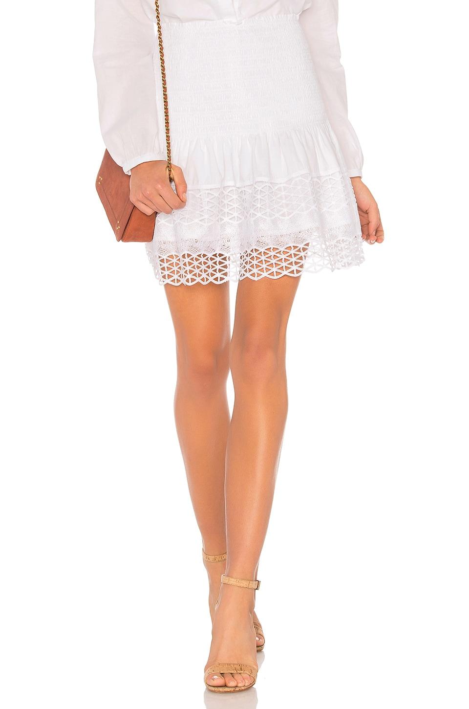 TAVIK Swimwear Lillie Skirt in White