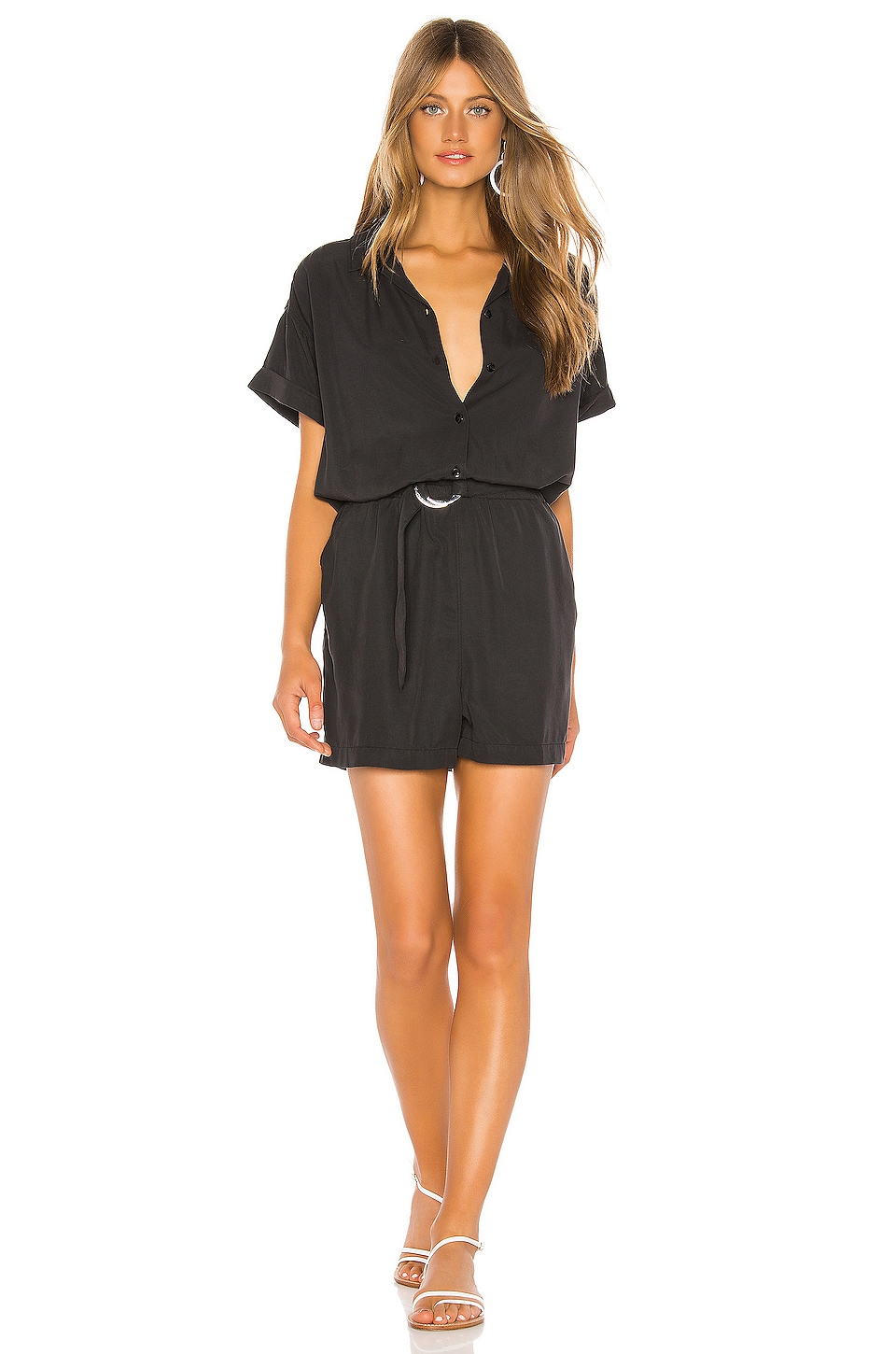TAVIK Swimwear Farrah Romper in Black