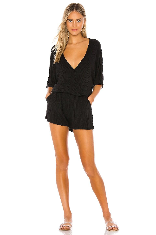 TAVIK Swimwear Tia Romper in Black