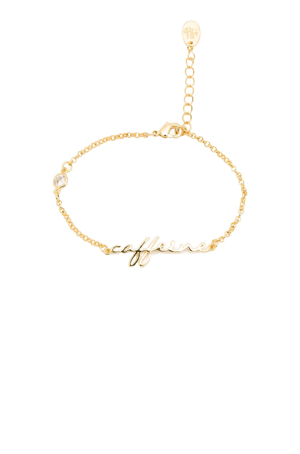 Tawnie & Brina Caffeine Bracelet in Gold