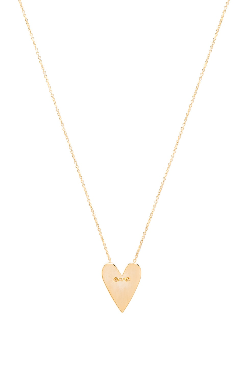 Tawnie & Brina Heart Necklace in Gold