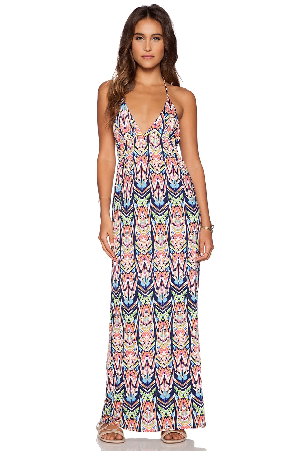 T-Bags LosAngeles Maxi Dress in St. Lucia