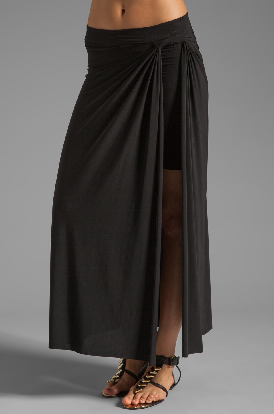 T-Bags LosAngeles Maxi Skirt in Black