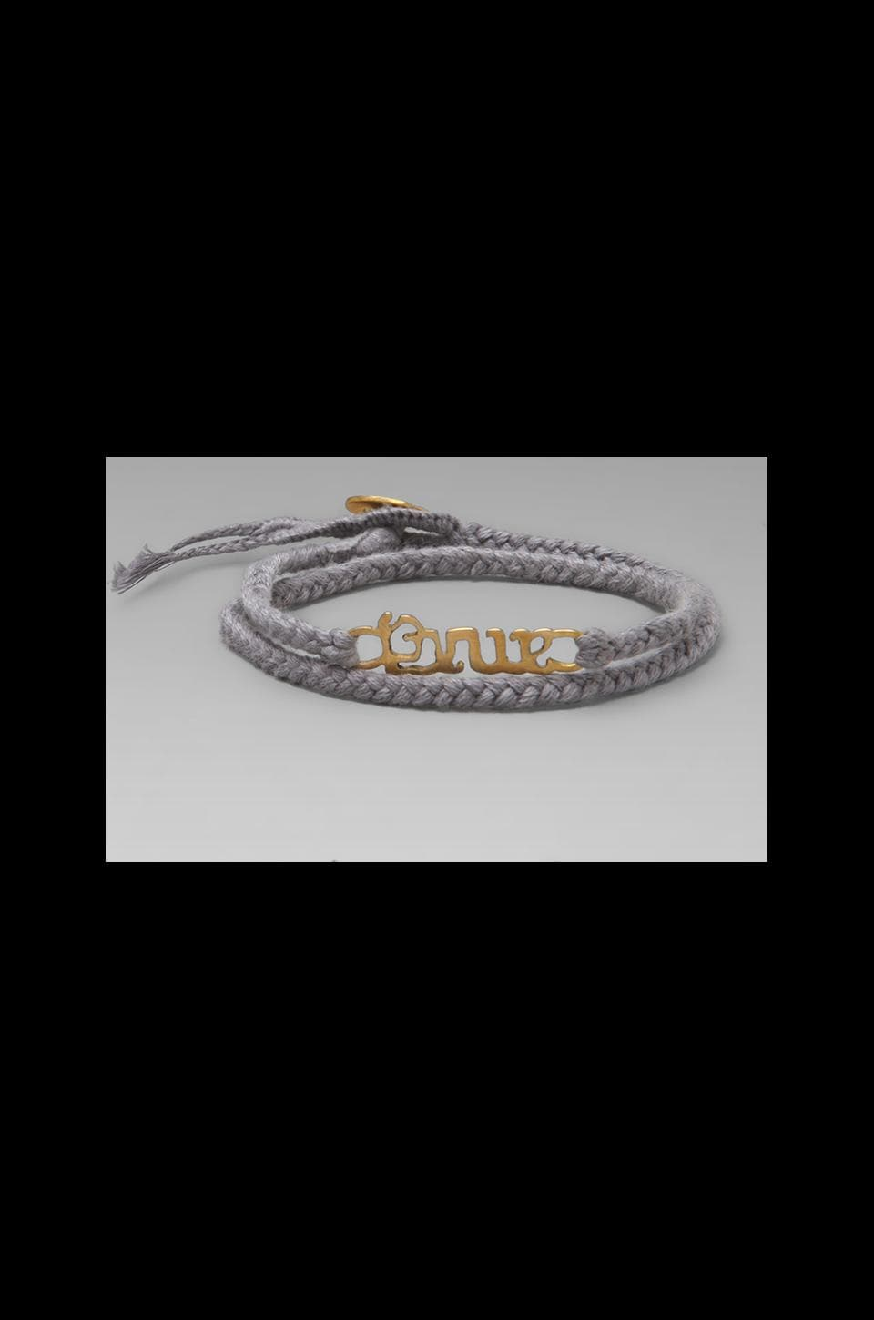 The Brave Collection Brave Bracelet Slate Grey