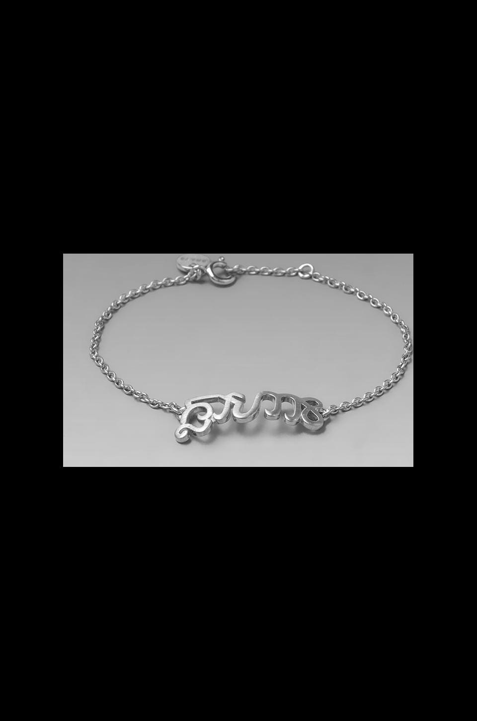 The Brave Collection Chain Bracelet in Sterling Silver