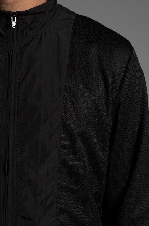 T by Alexander Wang Swim Nylon Mesh Inside Out Jacket in Black