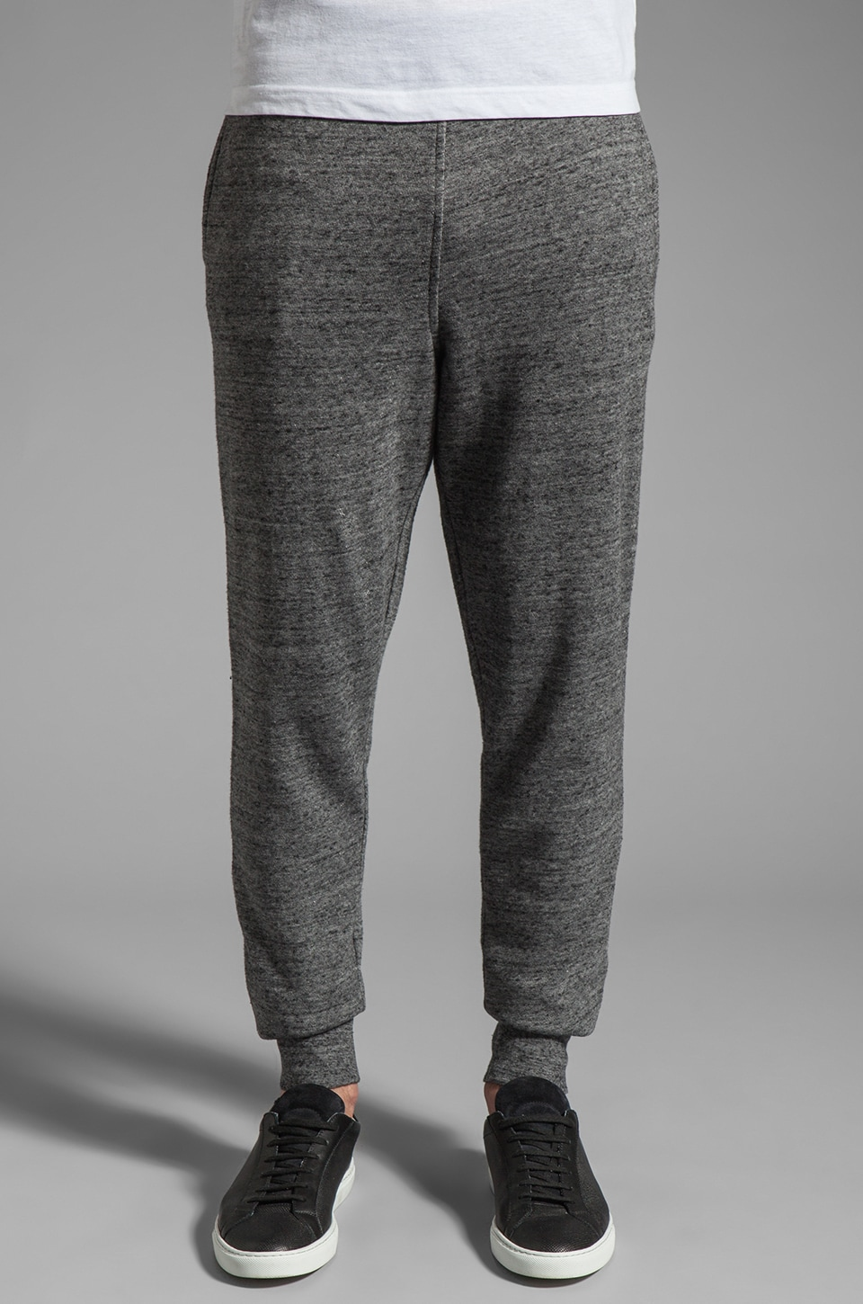 T by Alexander Wang French Terry Sweatpants in Charcoal