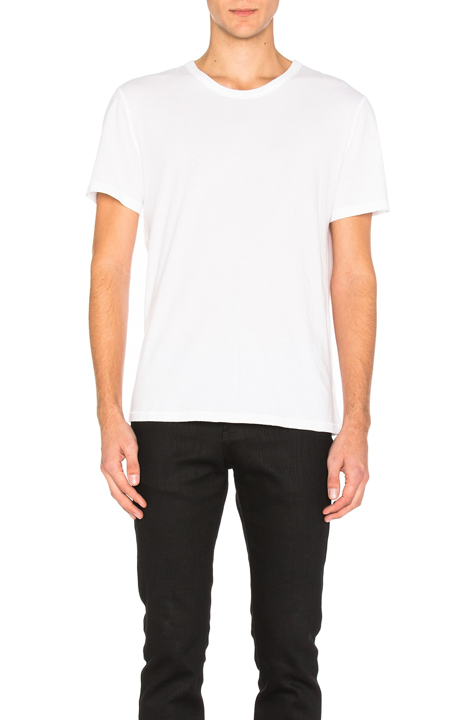 Classic Short Sleeve Tee by T by Alexander Wang