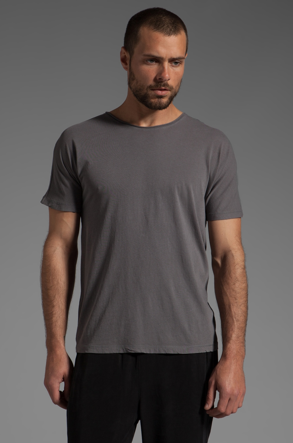 T by Alexander Wang Pigment Dyed Tee in Slate