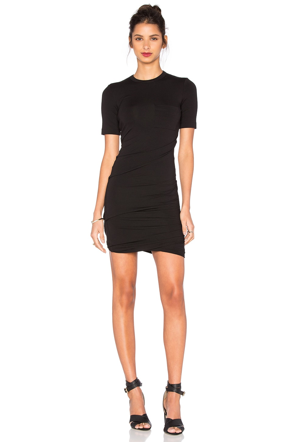 Crepe Jersey Dress by T by Alexander Wang