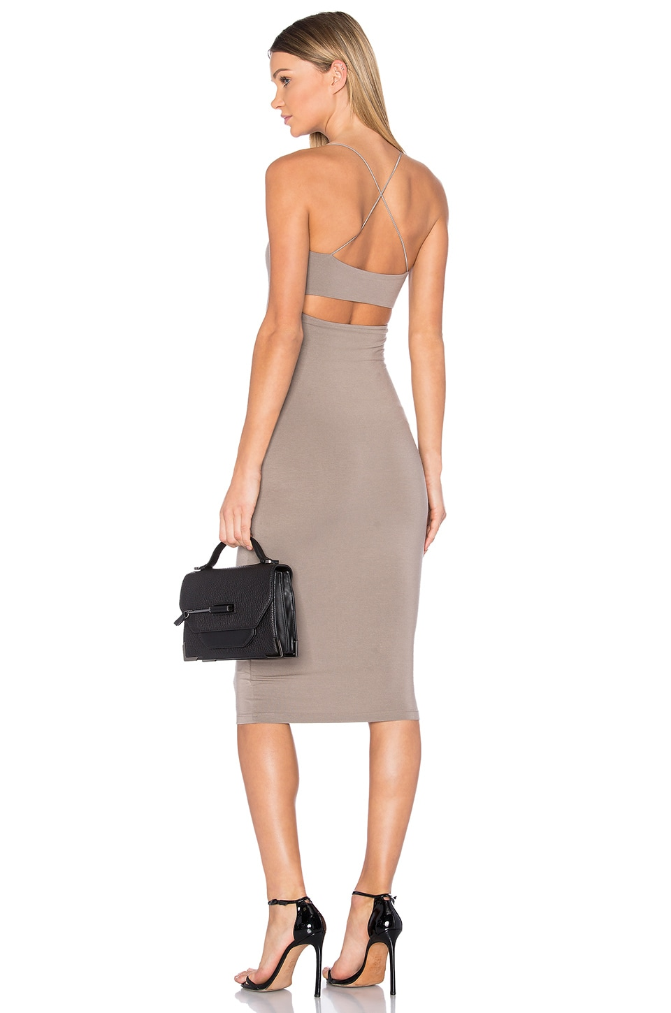 Cross Back Tank Dress by T by Alexander Wang