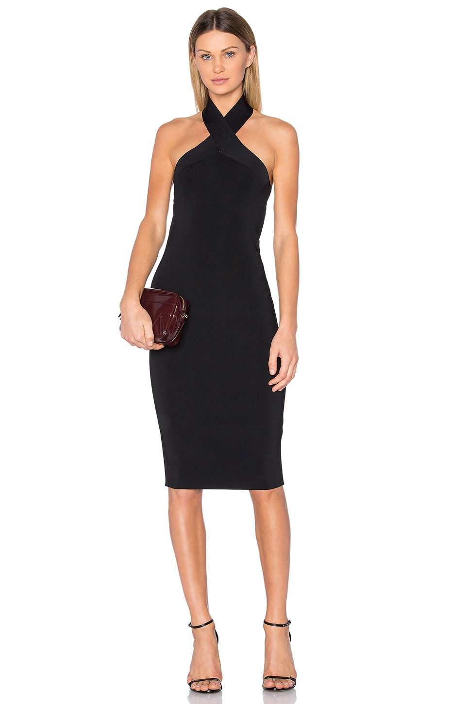 Knit Halter Dress by T by Alexander Wang