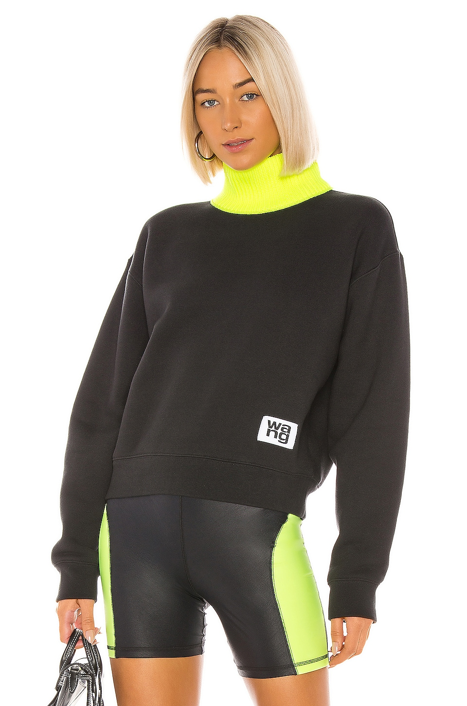 T by Alexander Wang COL ROULÉ