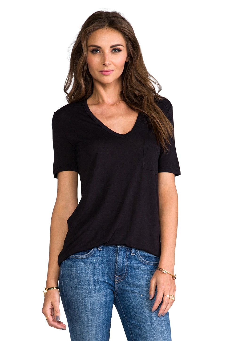 T by Alexander Wang Classic T in Black