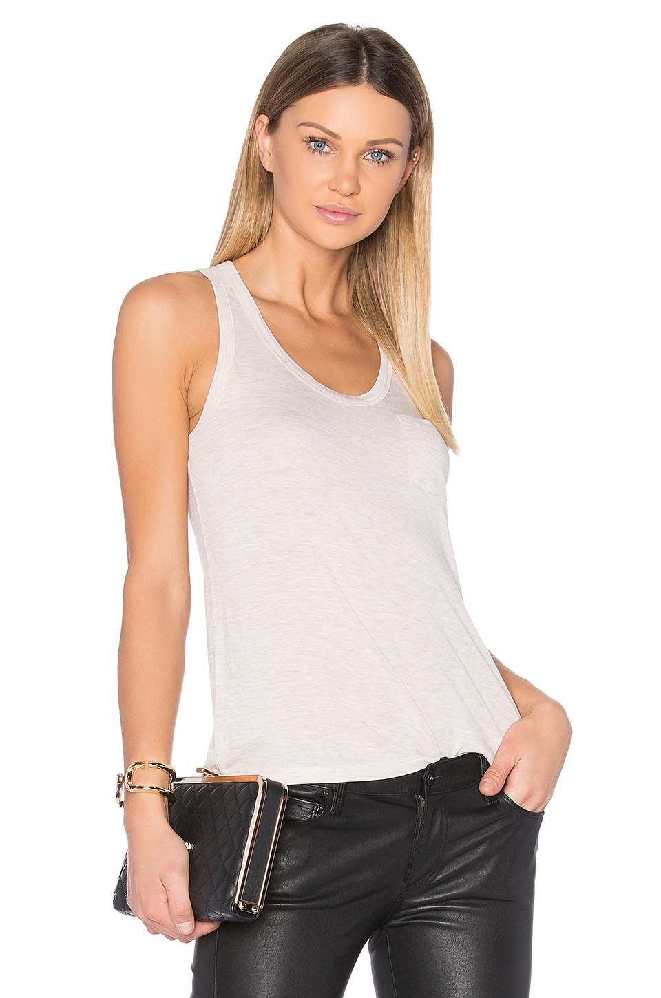Classic Pocket Tank by T By Alexander Wang