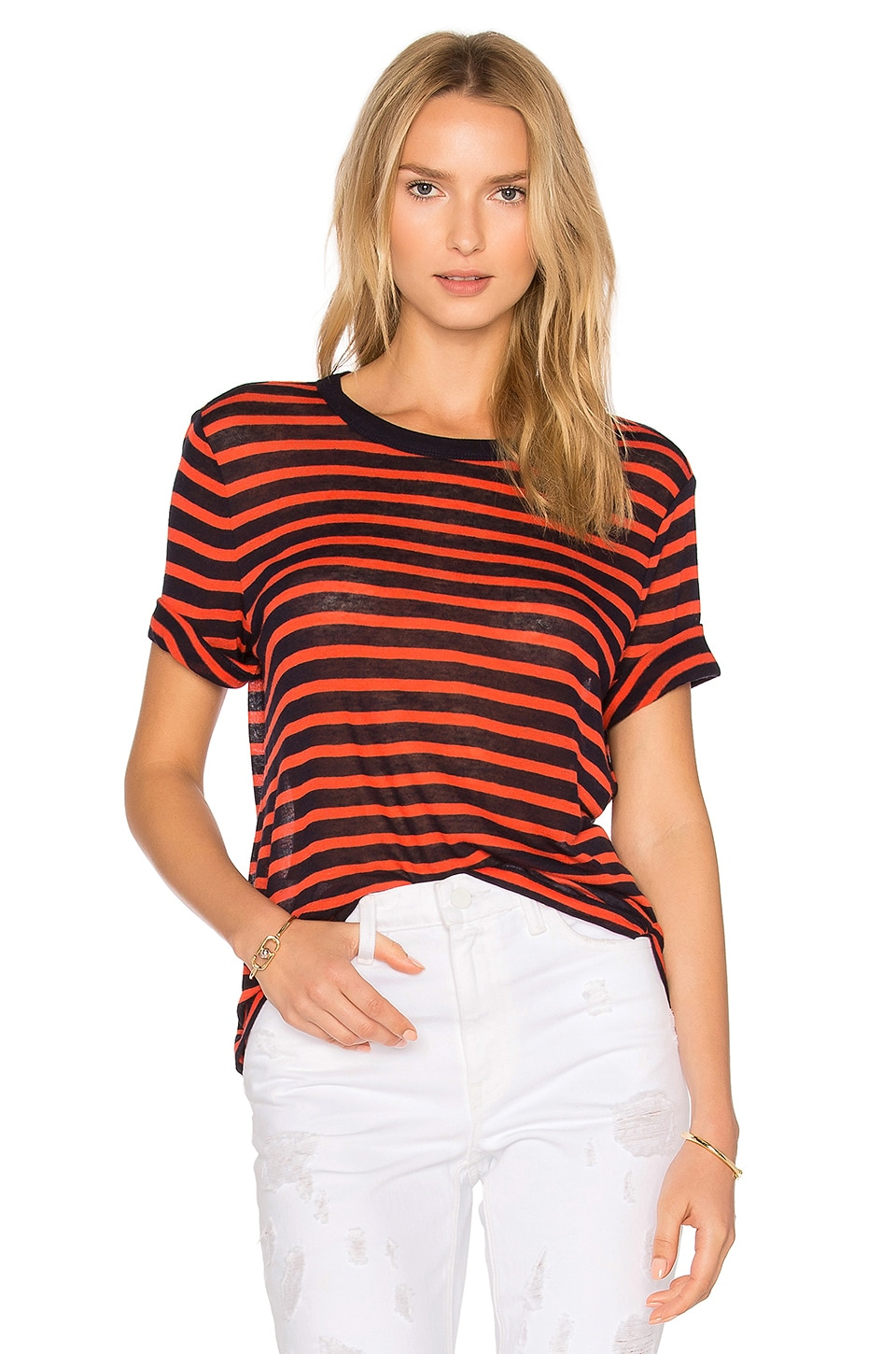 Short Sleeve Crop Tee by T by Alexander Wang