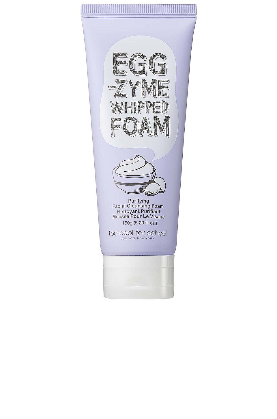 Too Cool For School Egg-zyme Whipped Foam Facial Cleanser