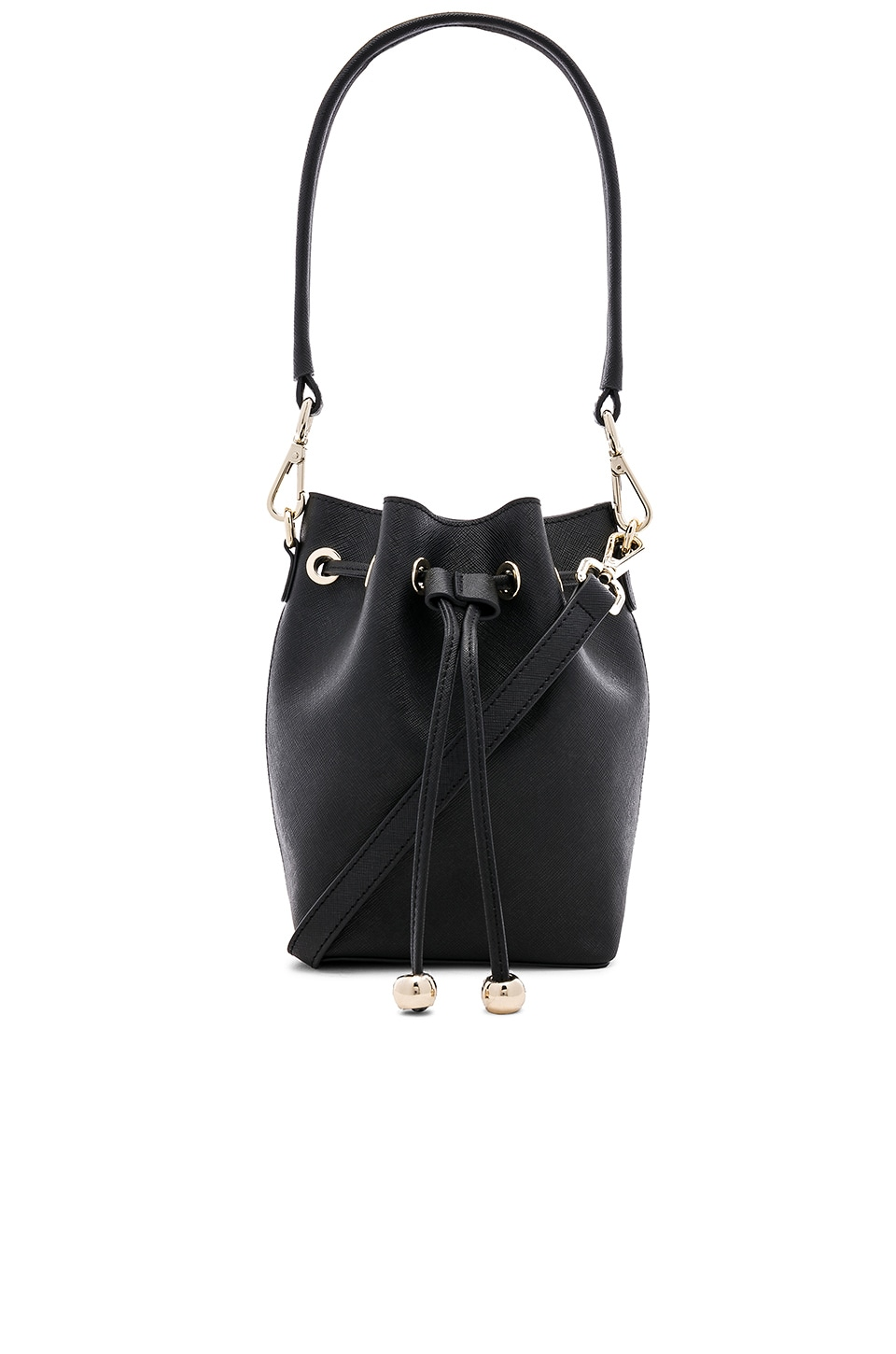 the daily edited Mini Bucket Bag in Black