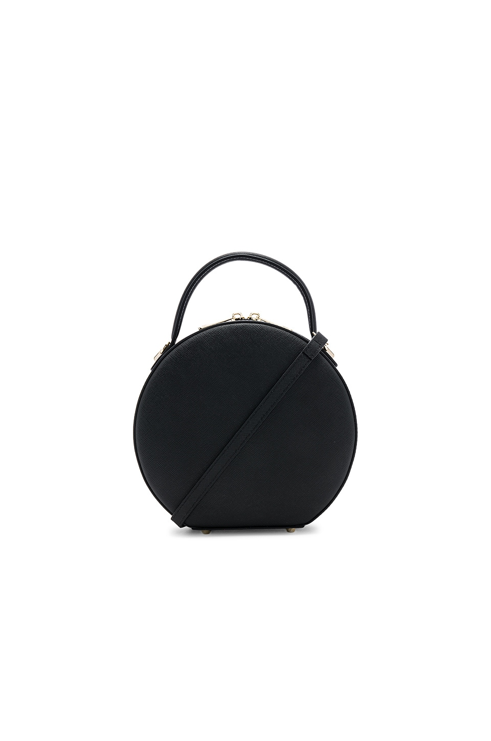 the daily edited Circle Cross Body Bag in Black