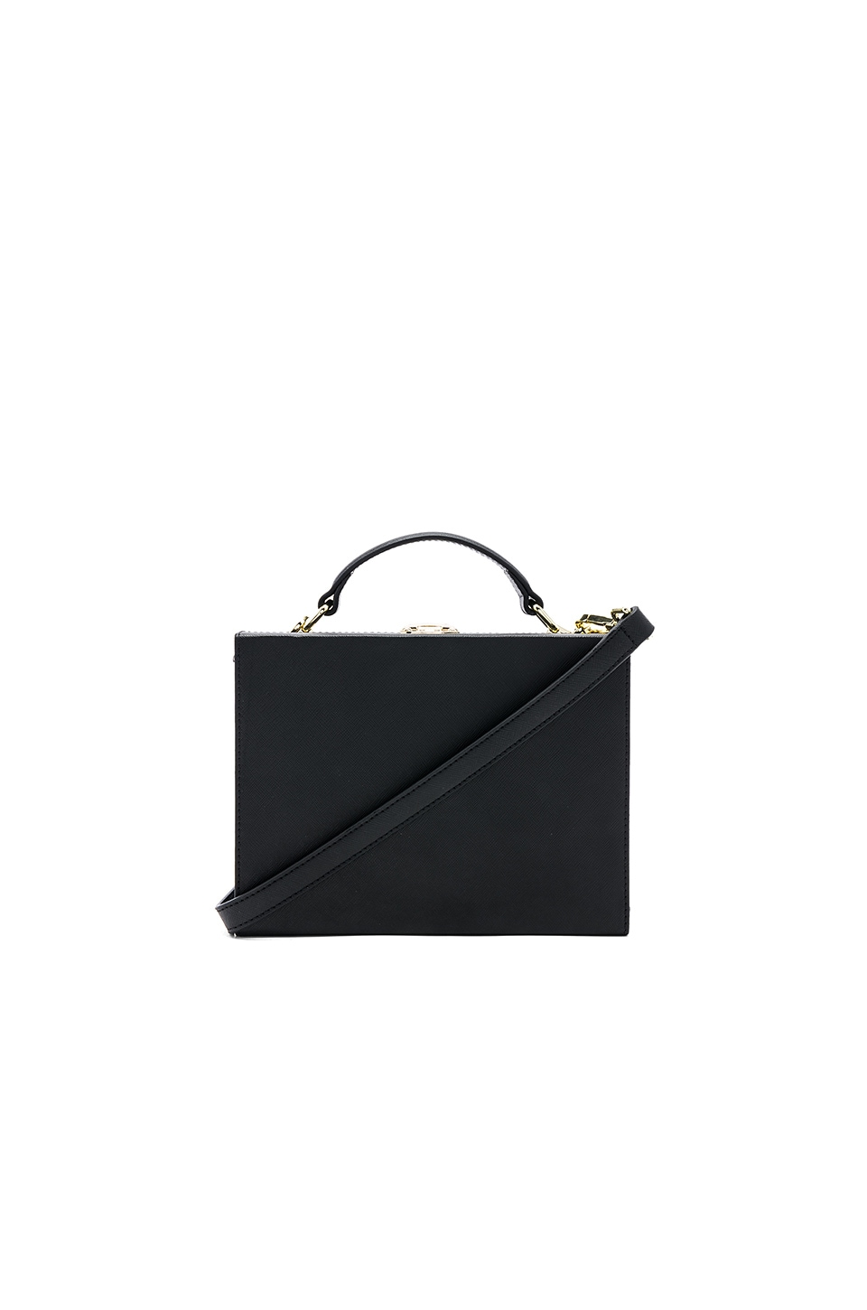 the daily edited Box Bag in Black