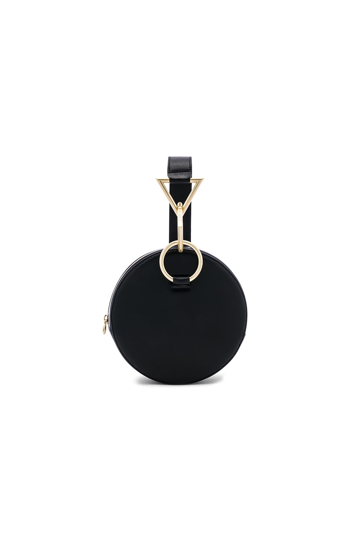Tara Zadeh Azar Calf Leather Clutch Bag in Black