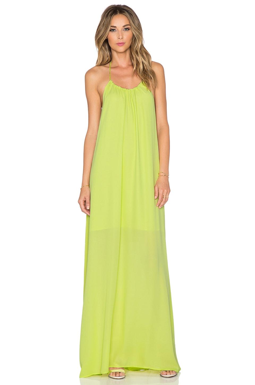 Three Eighty Two Kallie Halter Maxi Dress in Margarita