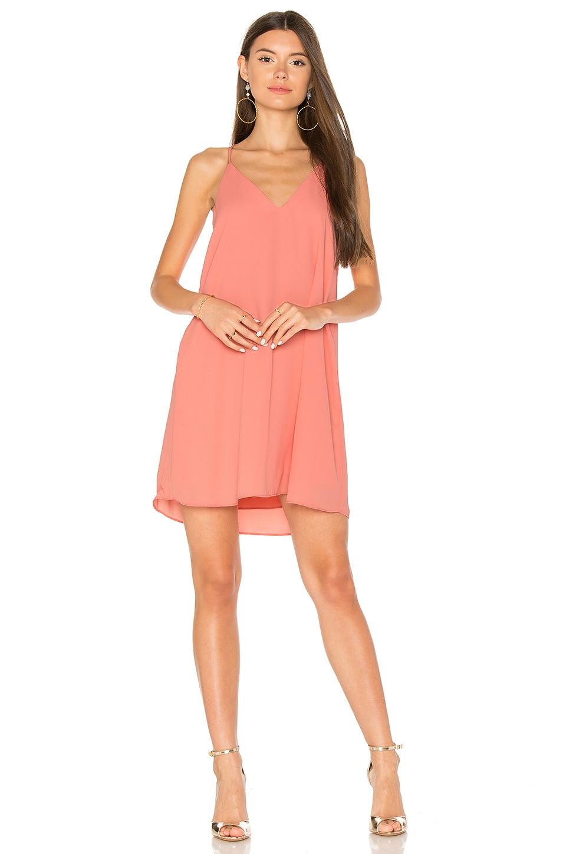 Three Eighty Two Tanner Slip Dress in Daquiri