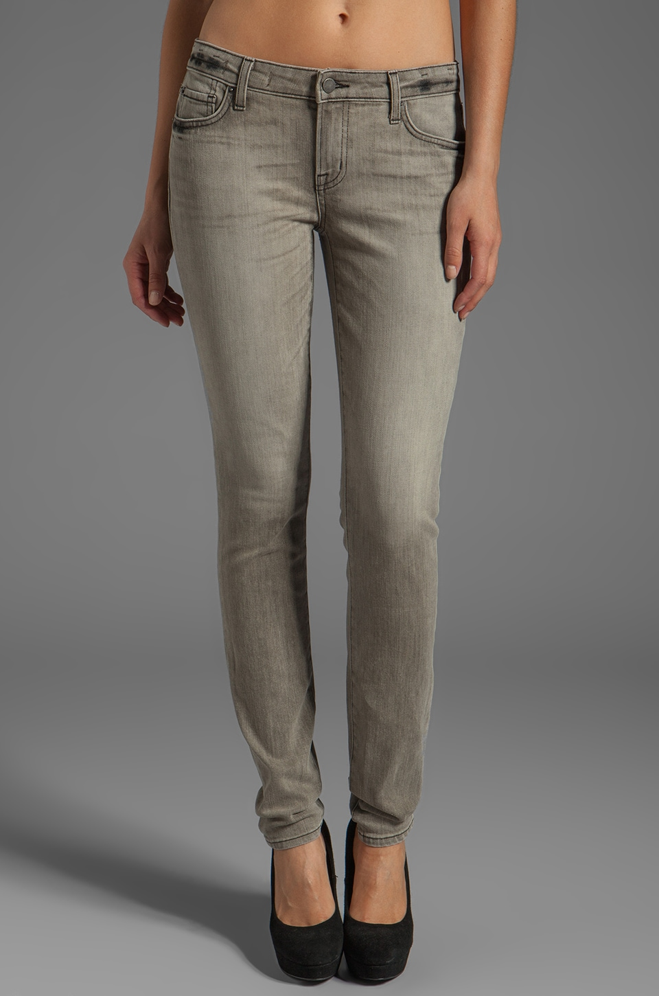 TEXTILE Elizabeth and James Debbie Skinny in Ash