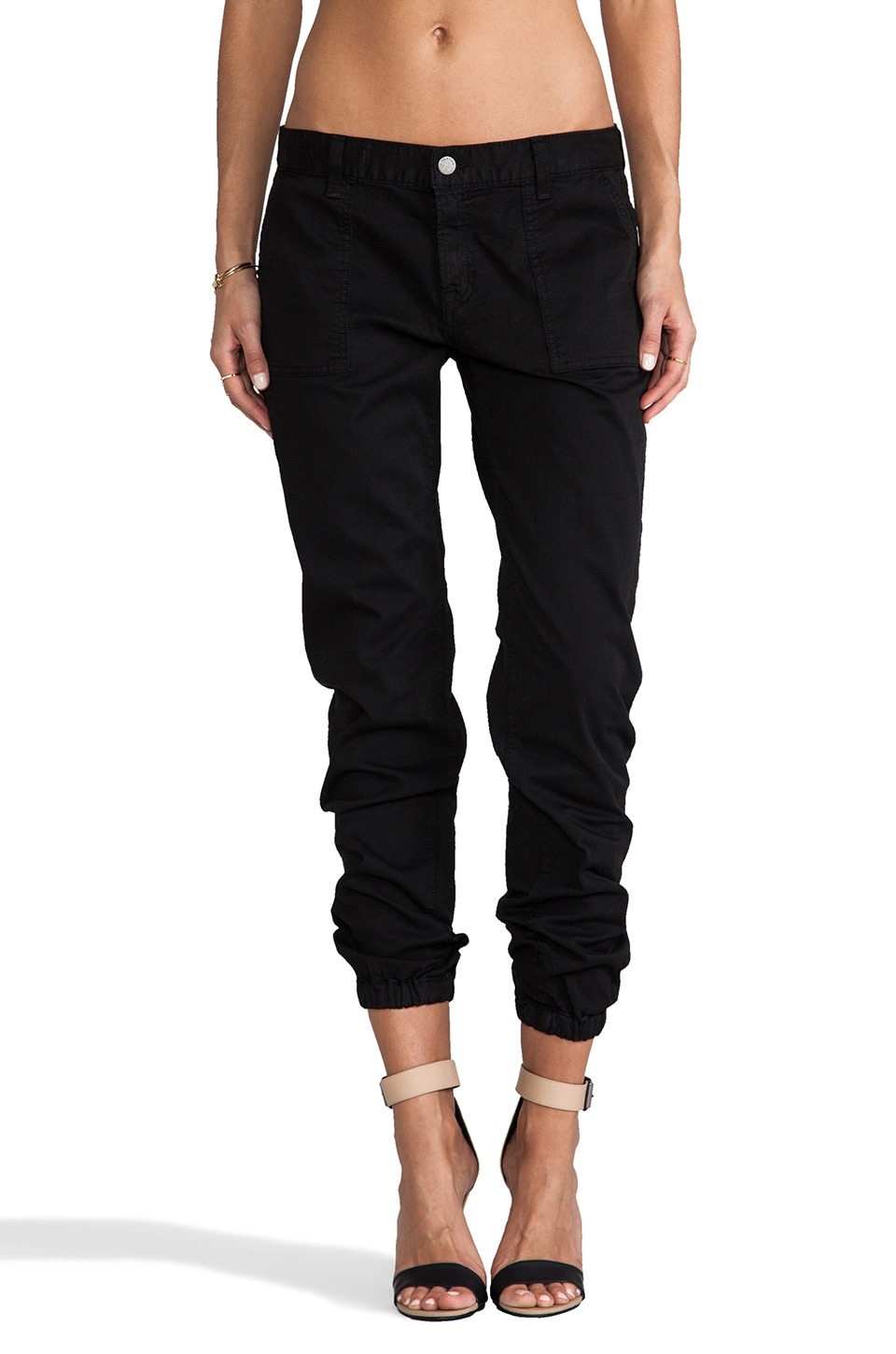 TEXTILE Elizabeth and James Oliver Pants in Black