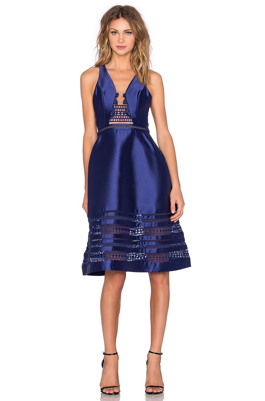 Three Floor Horizon Blue Dress in Midnight Blue - REVOLVE