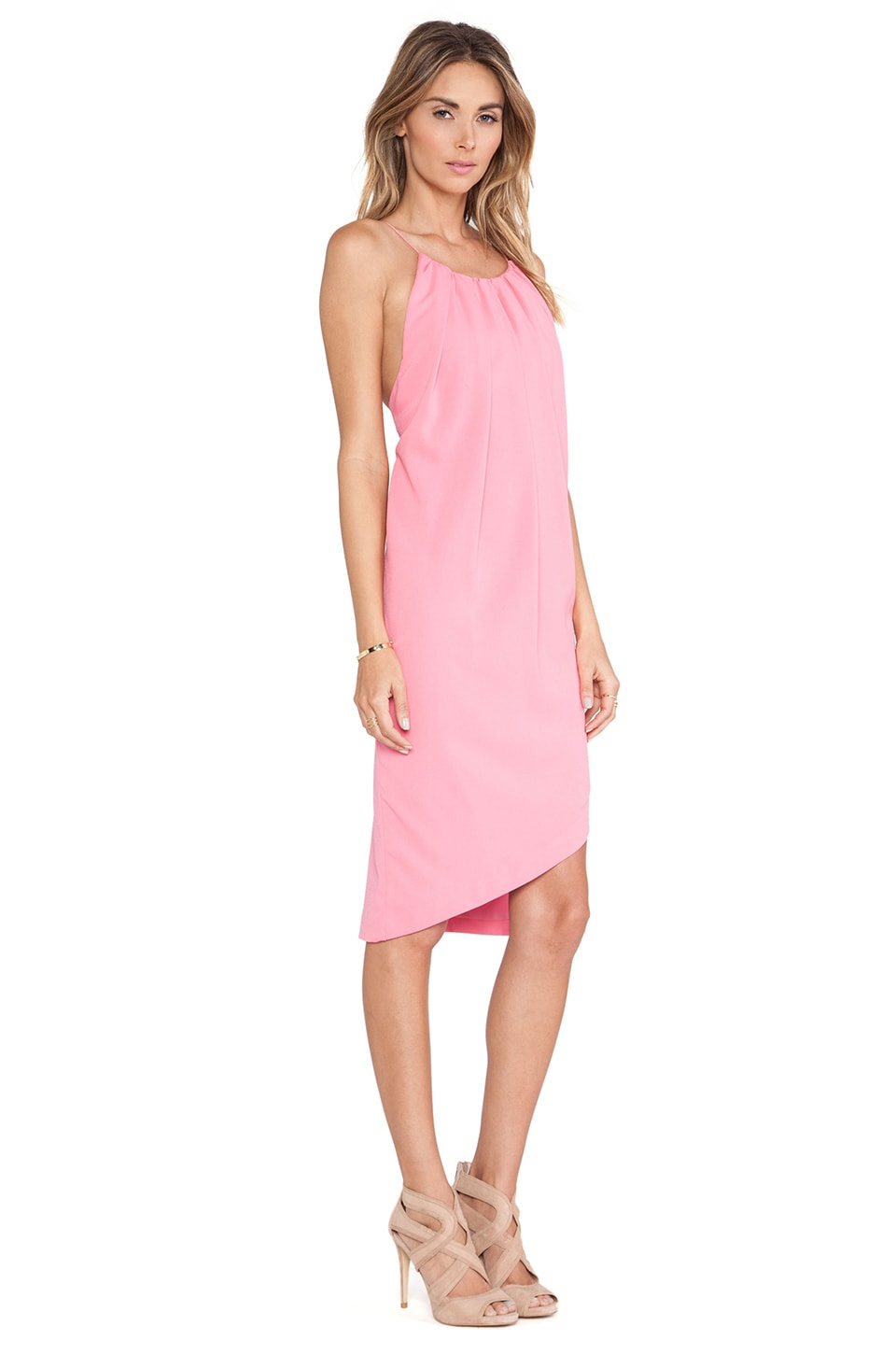 Three Floor Bright Young Thing Dress in Bubblegum Pink - REVOLVE