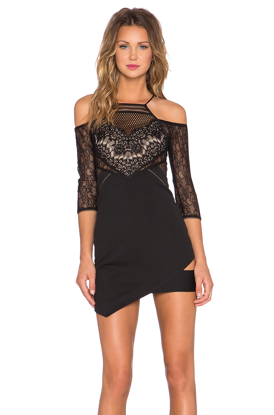 Three floor dunn with that mini dress in black revolve for Three floor yellow dress