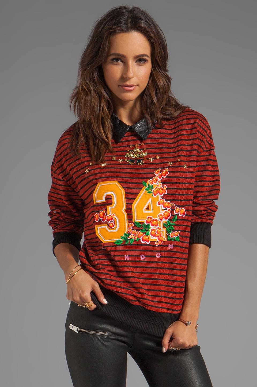 Three Floor Lucky Number Sweatshirt in Multi
