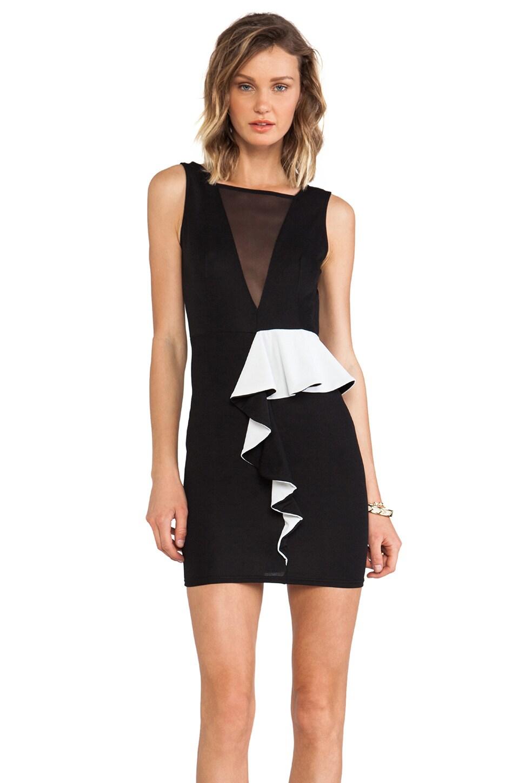 TFNC London Dalila Dress in Black & White