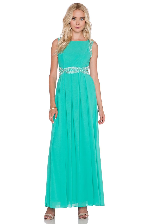 TFNC London Malaga Maxi Dress in Turquoise