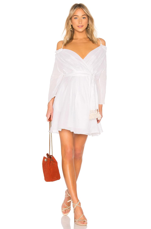 THREE GRACES Tessa Tie- Over Mini Dress
