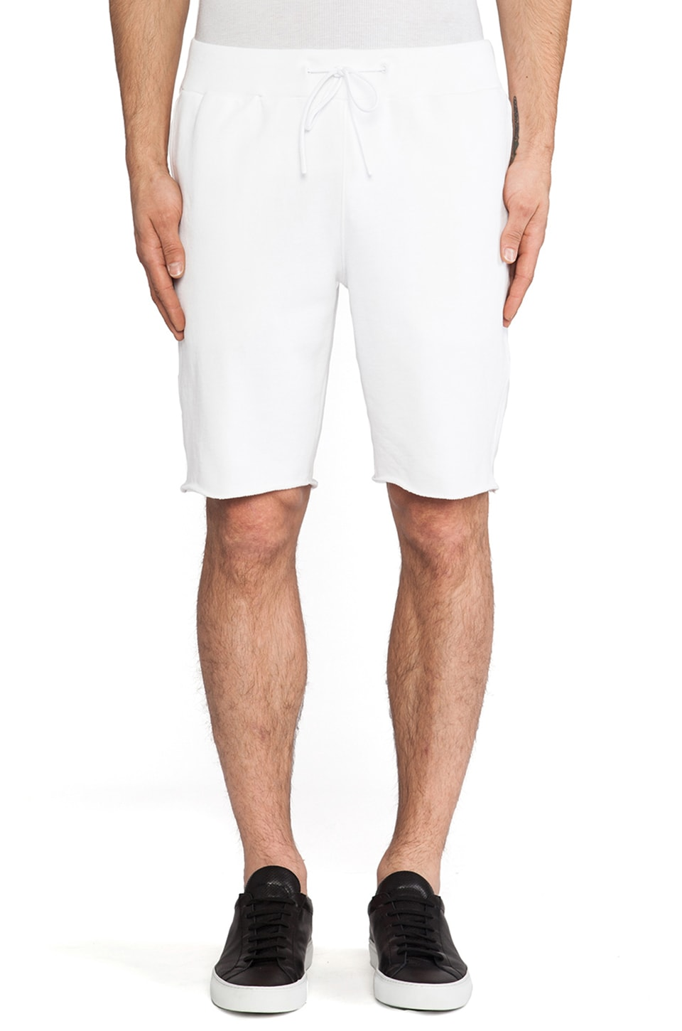 Theory 38 Bendt Sweatshort in White