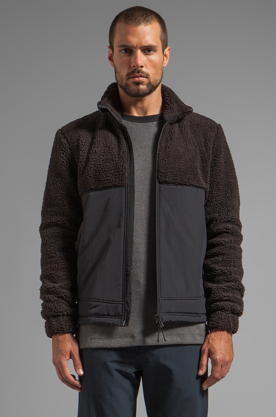 Theory 38 Braker Jacket in Black